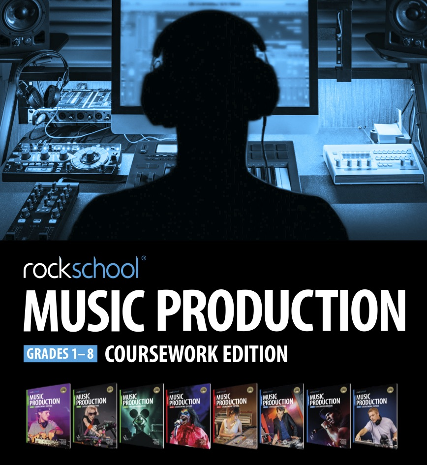 Picture of Rock School Music Production Flyer