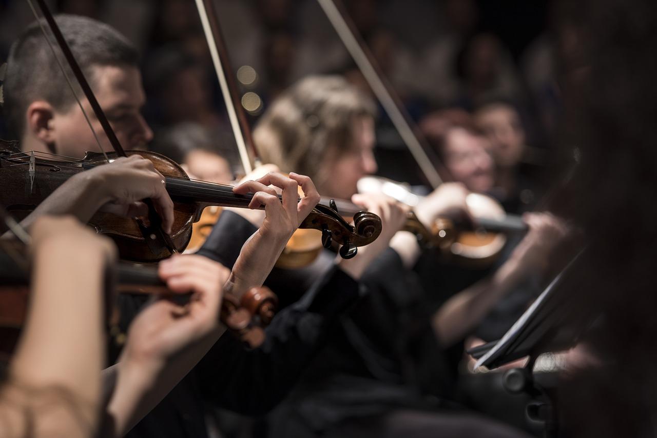 classical music, concert, macro